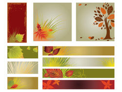 autumn-banner-background vector