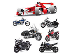F1 Formula One and motorcycle Vector-thumb