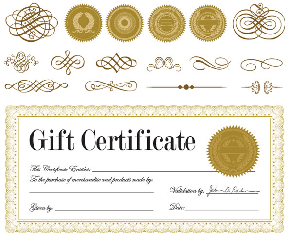 Vector free download free vector graphic art free icons free gift certificate and a badge vector yelopaper Image collections