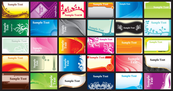 Free vector business card templates free vector in encapsulated brilliant color business card template vectors download free business cards templates free download reheart Gallery