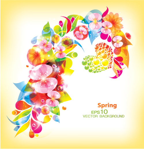 Blossoming patterns Vector : Download Free Vectors graphic design