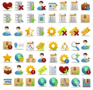 Pretty Office Icon Part 3 icons