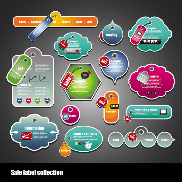Label vector free download