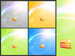 Dazzling starlight background vectoc-thumb