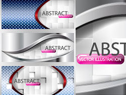 Abstract Colorful banner vector-Thumb