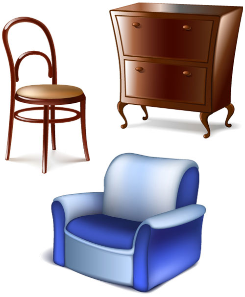 Popular Office Furniture Vector Thphocom Stock Photos Vectors
