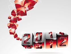 2012 font graphic design background vector-thumb