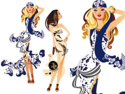 Fashion woman illustration vector-3-thumb