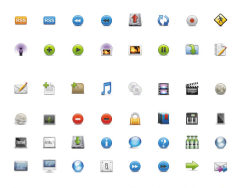 Practical Web page icons free download-thumb