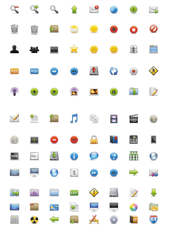 Practical Web page icons free download
