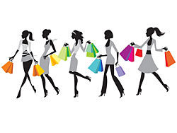 Shopping Bag Vector design-thub