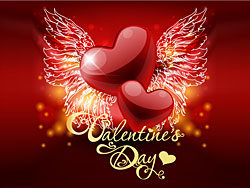 Valentine's Day Greeting Cards Vector design-thub