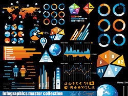 Business data elements vector - 01-thub