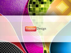 Abstract line backround vector-thumb