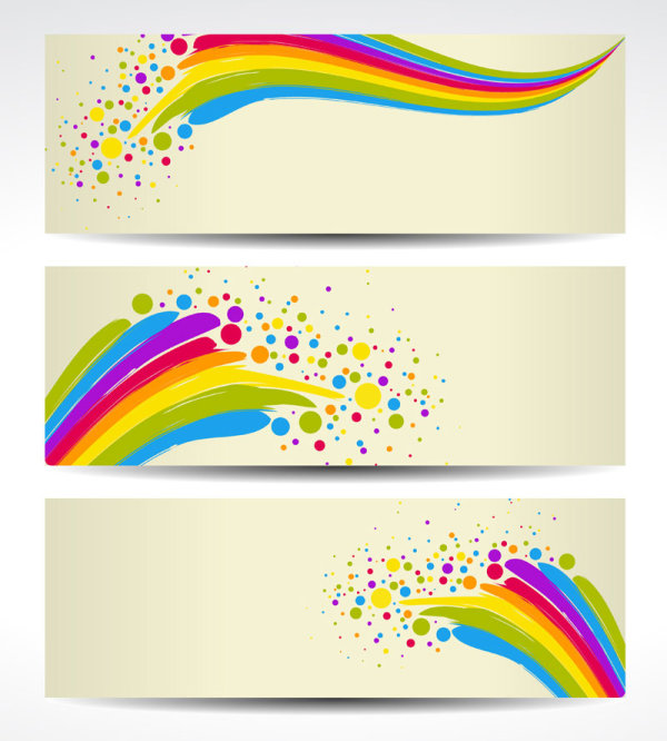 Color notes background vector