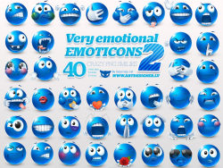 Very emotional emoticons-thu