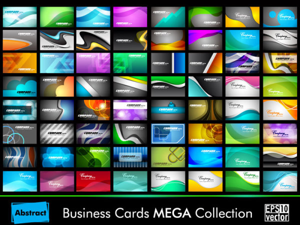 Beautiful cards MEGA Collection vector