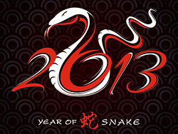 2013 Year of the Snake Design vector -01-thu