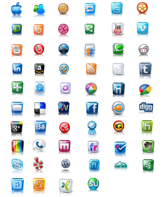 Free exquisite icons vector design