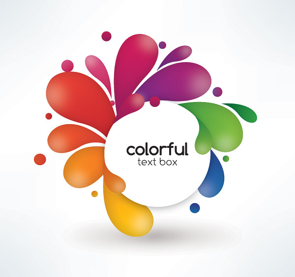 Beautiful color pattern Vectors