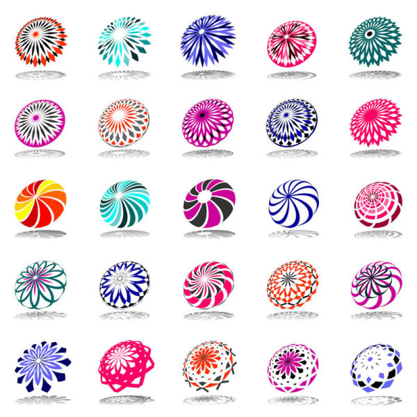 Abstract symbol graphics Vector
