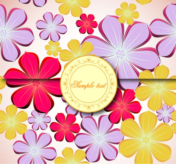Beautiful background pattern vector