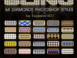64 Diamonds Photoshop Styles