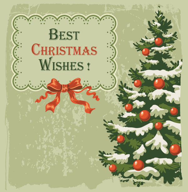 Beautiful Christmas background vector P1