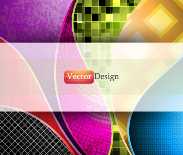 Abstract line backround vector